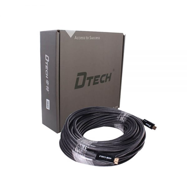 DTECH DT-6630C 30M Hdmi Cable With Chip