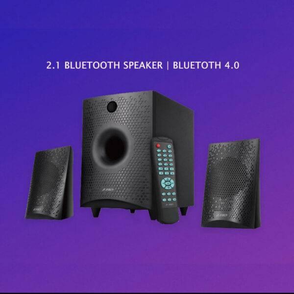 F&D F210X 2.1 Bluetooth Multimedia Speaker F210X 01