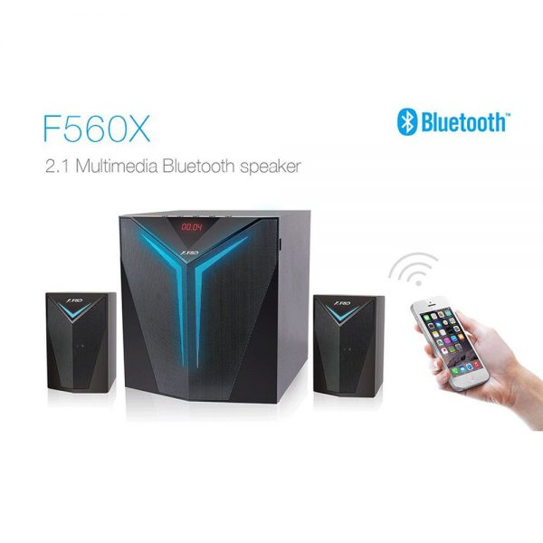 F&D F560X 2.1 BLUETOOTH MULTIMEDIA SPEAKER
