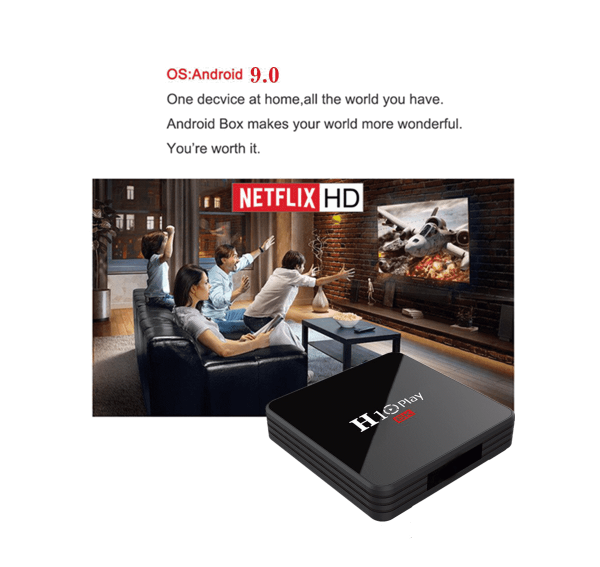 H10 Play Android 9.0 Smart 6K TV Box H 10 Play Tv box 1 optimized
