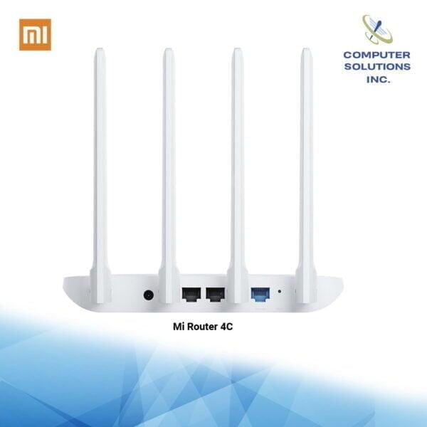 Mi Router 4C (White) Global Version Mi Router 4C Back