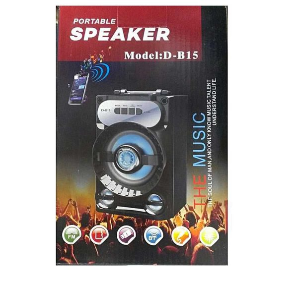 Portable Bluetooth Speaker D-B15 Untitled 1 1