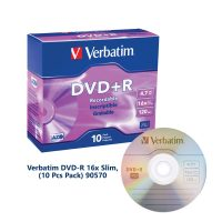 Verbatim DVD-R 16x Slim (10 Pcs Pack) 90570