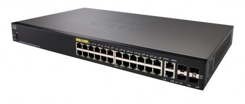 Cisco SF350-24P-K9-EU 24-port 10/100 POE Managed Switch