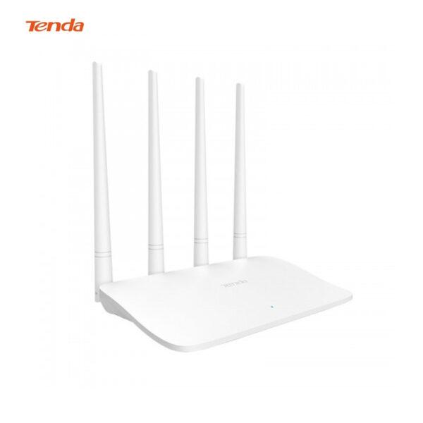 Tenda F6 Wireless N300 Easy Setup Wi-Fi Router 300 - White