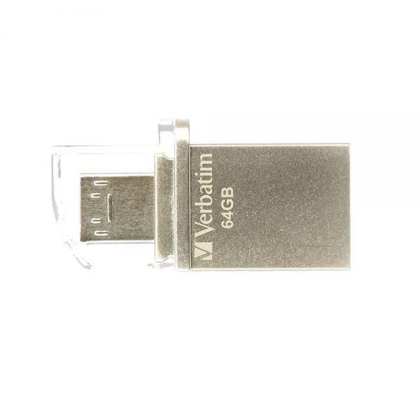 Verbatim 49827 Store'n'Go OTG Micro USB 3.0 Drive 64GB 49827 64gb f min