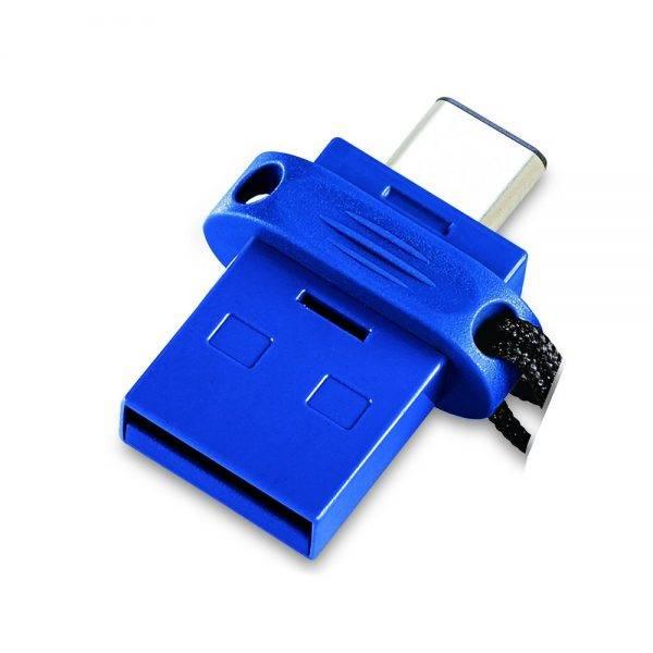 Verbatim 49966 Type C USB 3.0 OTG 32GB 49966 no packaging angled 2 min