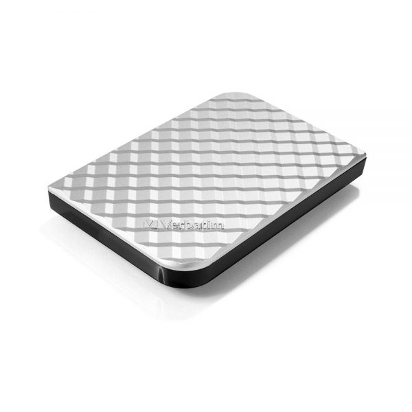 Verbatim Portable External HDD Silver