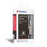 Verbatim Step-up Lightning Cable Grey