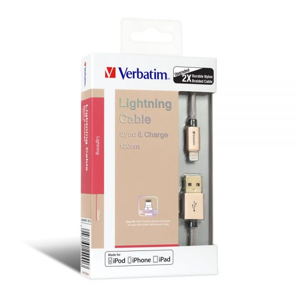 Lightning Cable Gold