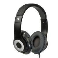 VERBATIM 65066 HEADPHONES CLASSIC OVER-EAR DESIGN V-100C BLACK