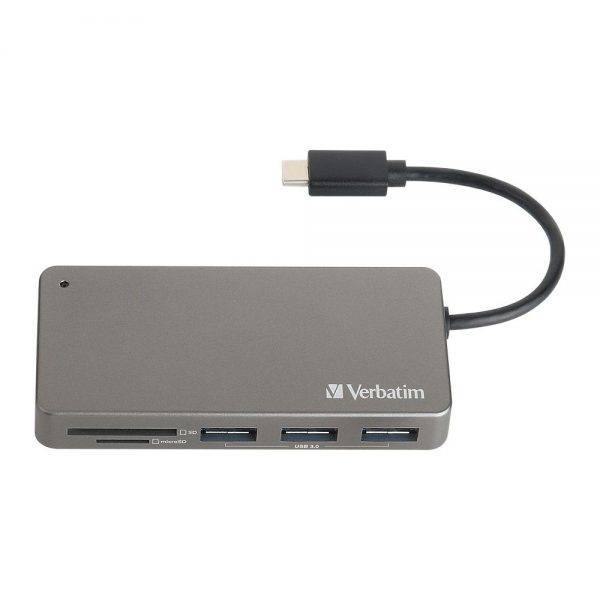 Verbatim 65679 USB-C™ 3.1 Card Reader 65679 c min