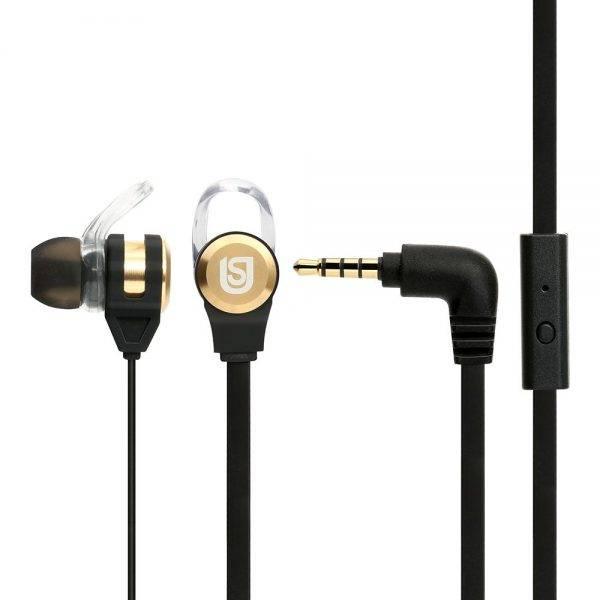 Verbatim 66120 In Ear Headphones Black/Gold 66120 aus min