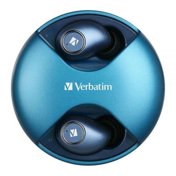 Verbatim 66349  Earbuds Bluetooth 5.0 TWS - Blue 66349 d 1 min