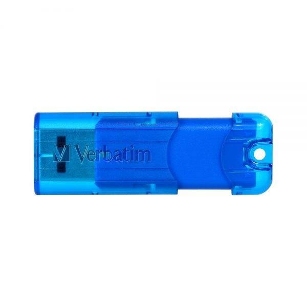 Verbatim Pinstripe USB 3.0 Drive 32GB - Blue 66407 66407 blue aus b 02 min