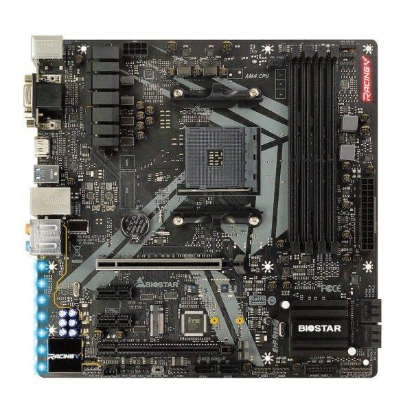 BIOSTAR Racing B450GT3 (AMD B450) Motherboard B450GT3 1