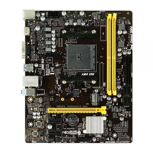 BIOSTAR B450MH AM4 AMD B450 SATA 6Gb/s Micro ATX AMD Motherboard B450MH 1