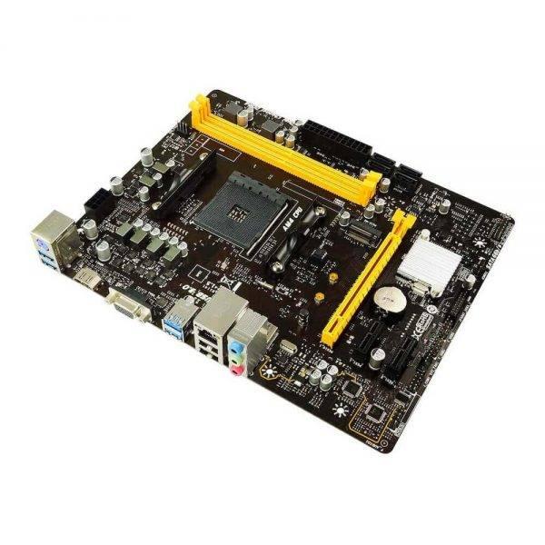 BIOSTAR B450MH AM4 AMD B450 SATA 6Gb/s Micro ATX AMD Motherboard B450MH 2
