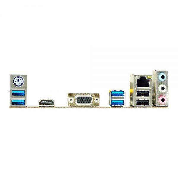 BIOSTAR B450MH AM4 AMD B450 SATA 6Gb/s Micro ATX AMD Motherboard B450MH 3