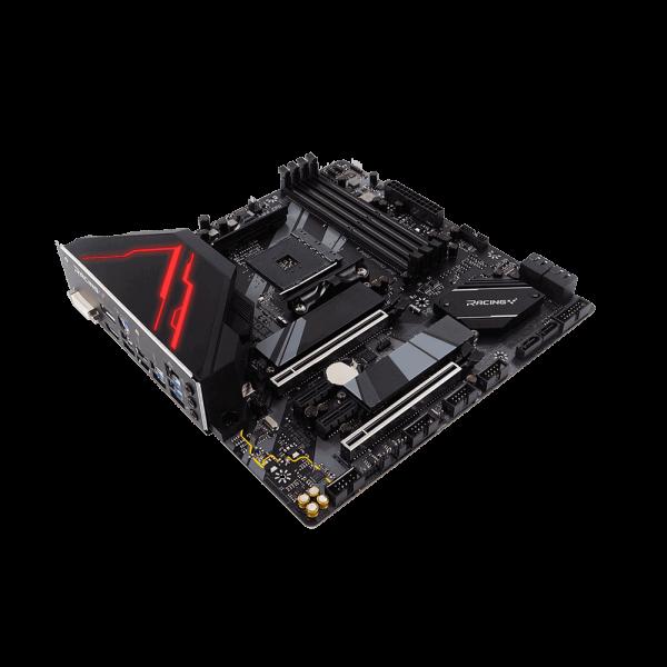 BIOSTAR RACING B550GTQ AM4 AMD B550 SATA 6Gb/s Micro ATX AMD Motherboard B550GTQ 2