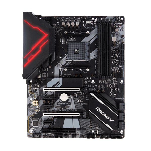 BIOSTAR RACING B550GTA AM4 AMD B550 SATA 6Gb/s ATX AMD Motherboard b550gta 1