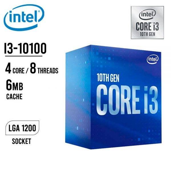 Intel 10th Gen Core i3 10100 Processor core i3 10th gen 10100 min