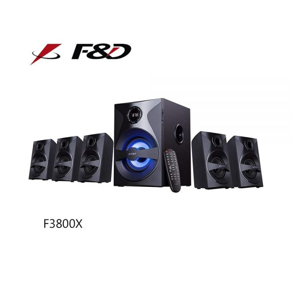 F&D F3800X 5.1 Bluetooth Multimedia Speaker