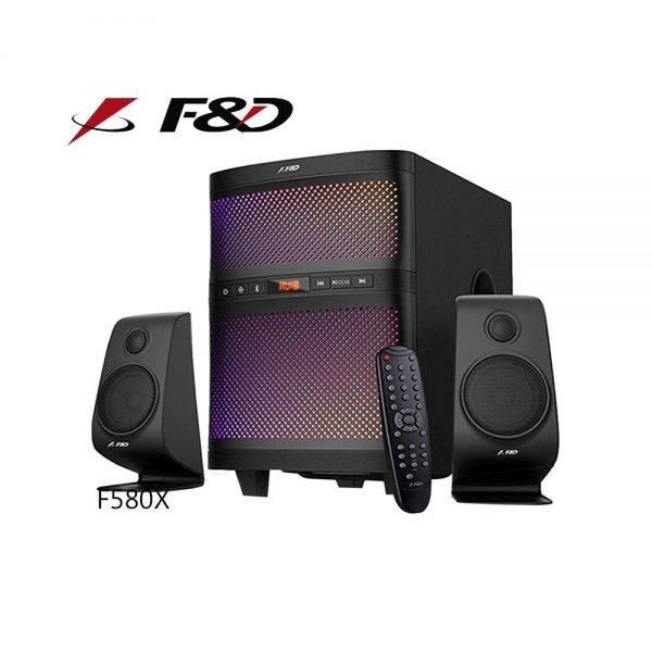 F&D F580X 2.1 Bluetooth Multimedia Speaker