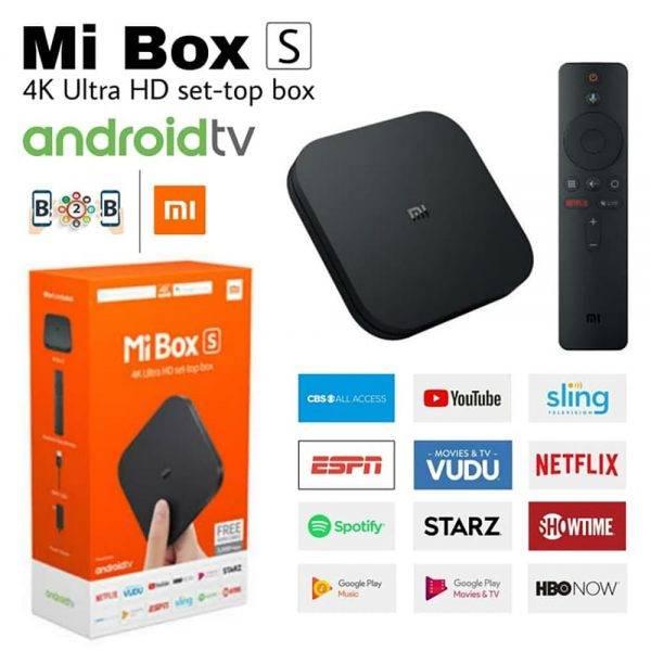 Xiaomi MI Box S MDZ-22-AB Android TV Box Global Version mi box s android tv min