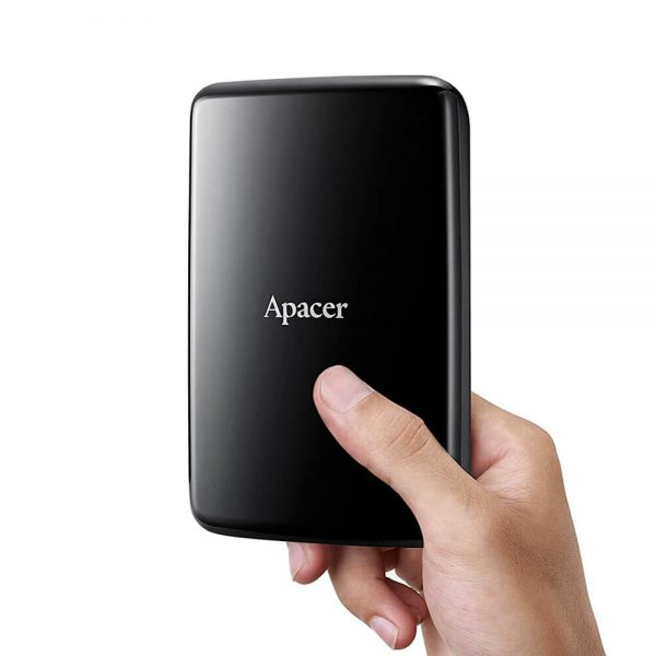 Apacer USB 3.1 Gen 1 Portable Hard Drive AP2TBAC233B-S 2TB Black Color box AC233 B