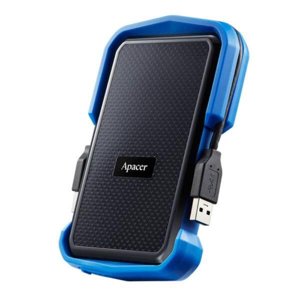 AP2TBAC631U-1 Apacer 2TB Portable Hard Drive Blue Color box AP2TBAC631U
