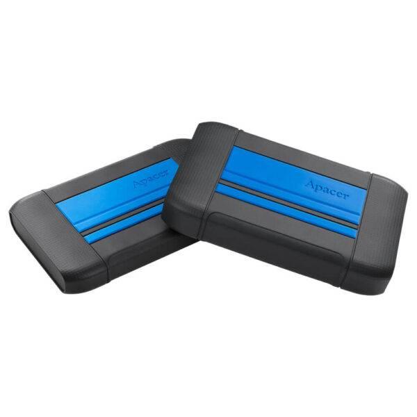 Apacer USB 3.1 Gen 1 Portable Hard Drive AP1TBAC633U-1 1TB Blue Color box AC633 blue b