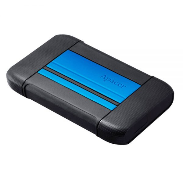 Apacer 2TB Portable Hard Drive Blue