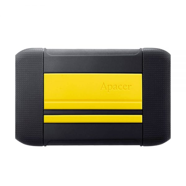 Apacer USB 3.1 Gen 1 Portable Hard Drive AP2TBAC633Y-1 2TB Yellow Color box AC633 yellow b