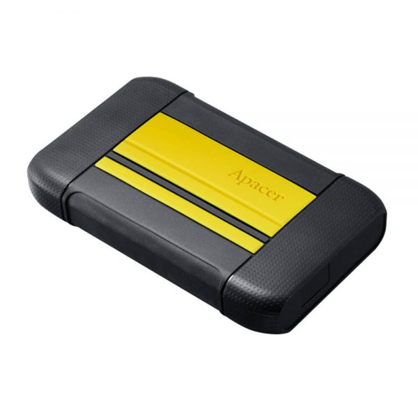 AP2TBAC633Y-1 Apacer 2TB Portable Hard Drive Yellow