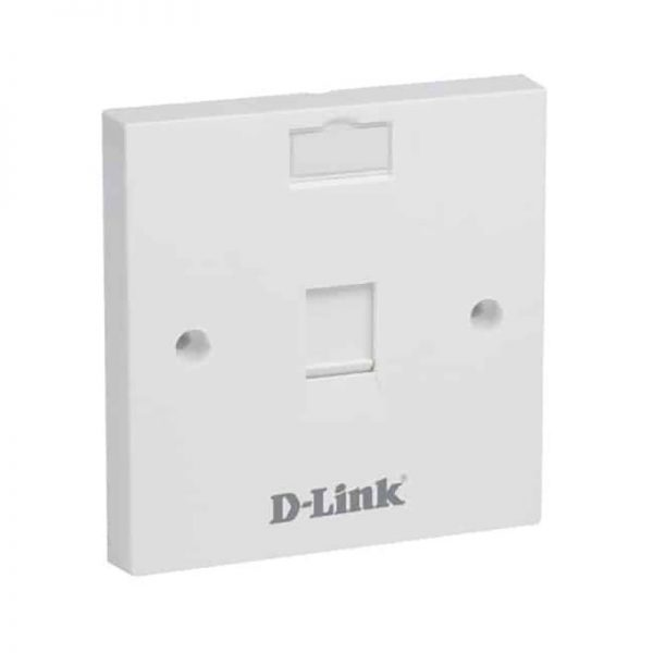 D-Link NFP-0WHI11 Single Faceplate