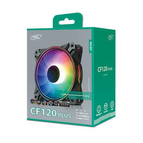 Deepcool CF120 PLUS Case Fan Deepcool CF120 PLUS Case Fan 10