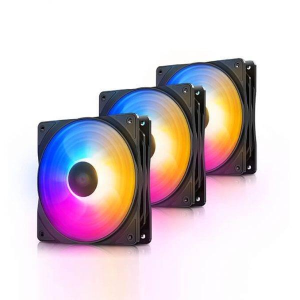 Deepcool RF120FS (3 in 1) Case Fan Deepcool RF120 FS 3 in 1 Case Fan 01