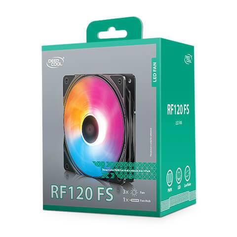 Deepcool RF120FS (3 in 1) Case Fan Deepcool RF120 FS 3 in 1 Case Fan 10