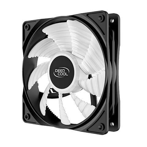 Deepcool RF120R High Brightness Case Fan with Built-in Red LED Deepcool RF120R High Brightness Case Fan 01
