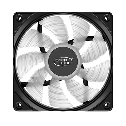 Deepcool RF120R High Brightness Case Fan with Built-in Red LED Deepcool RF120R High Brightness Case Fan 02