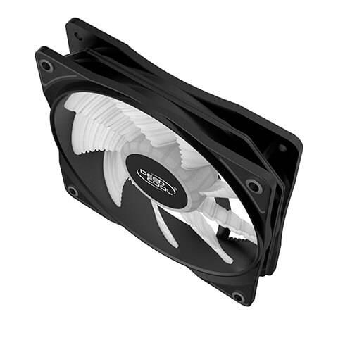 Deepcool RF120R High Brightness Case Fan with Built-in Red LED Deepcool RF120R High Brightness Case Fan 03