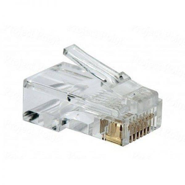 D-Link RJ-45 Cat-5/Cat-6 Connector [NPG-5E1TRA301-100] (100 Unit Per Box) RJ 45 Cable Connector