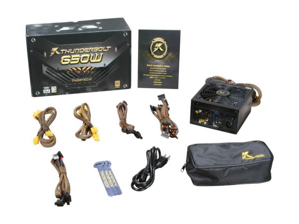 THUNDERBOLT GAMING POWER SUPPLY 650W 17 144 006 08