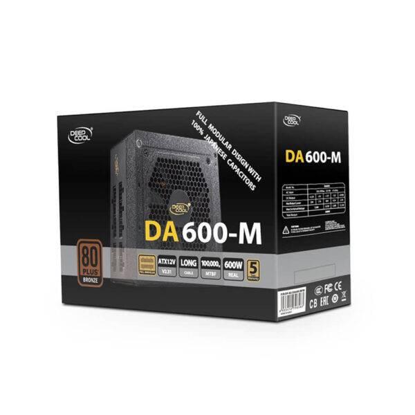 Deepcool DA600-M Gaming Power Supply DA600 M 3