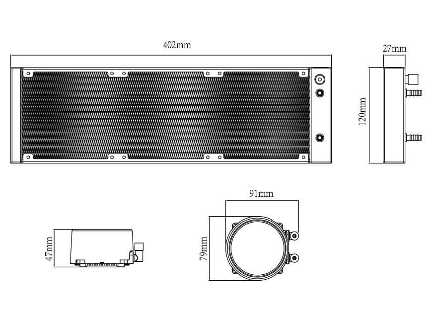 DEEPCOOL GAMMAXX L360 V2 CPU LIQUID COOLER