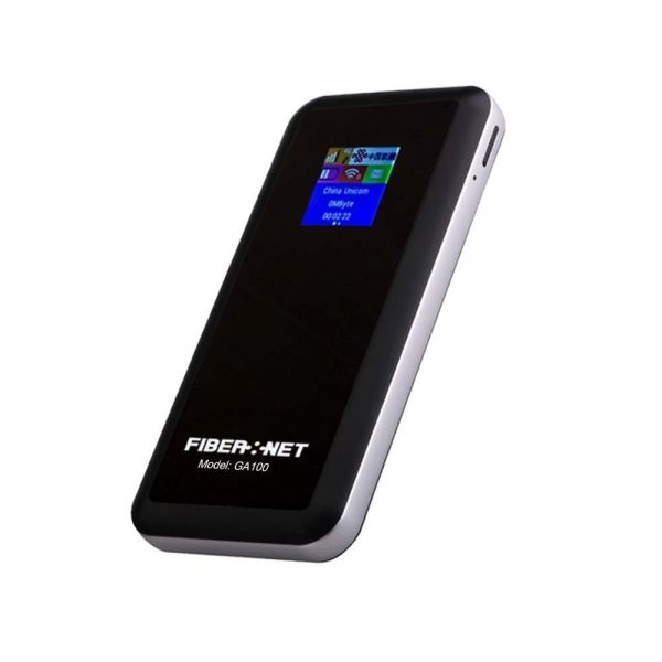 Fibernet GA100 4G LTE WiFi Router with Power bank