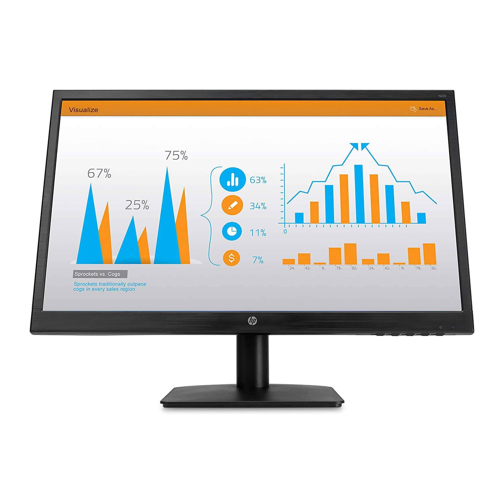 "HP N223 21.5"" WLED LCD Monitor"