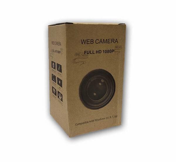 Web Camera Full HD 1080P Brown Packet