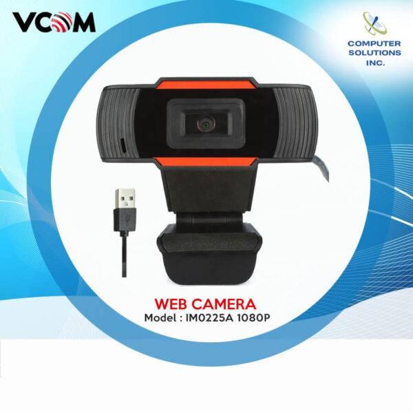 Vcom Webcam 1080P Model: IM0225A (Built in MIC)